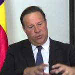 Panamá: presidente dice que Gobierno respeta la libertad de expresión