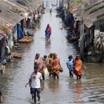 India: millones de afectados por inundaciones en Bengala
