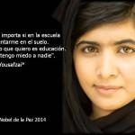 Malala recibe amenazas de muerte de terroristas en Birmingham