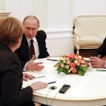 Francia: Putin, Merkel y Hollande plantean una cumbre sobre Ucrania