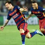 Barcelona campeón de Supercopa de Europa de la mano de Messi