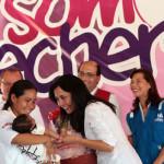 Nadine Heredia insta a entidades a implementar lactarios