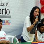 Nadine Heredia pide reprogramación de citas por caso agendas
