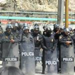 La Oroya: identifican a policía que portaba arma sin permiso