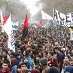 Chile: 80 mil protestan por cambios en gratuidad de educación superior