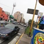 Día de la Policía Nacional: scouts dirigen tránsito vehicular
