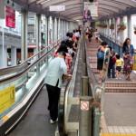 China: otra persona pierde su pie en una escalera mecánica