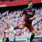 Liga BBVA: Barcelona vence 1-0 al Athletic con gol de Luis Suárez