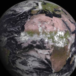 Satélite meteorológico MSG-4 captura la primera fotografía de la Tierra