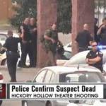 EEUU: policía mata a hombre que atacó un cine con hacha y rifle