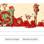 "Tomantina: Google celebra fiesta española con nuevo ""doodle"""