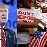 """Donald Trump: """"Hijos de inmigrantes ilegales tienen que irse"""""""