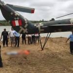 Tumbes: hélice de helicóptero decapita a mujer en visita de ministros