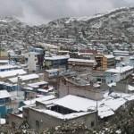 Cerro de Pasco: marcha de sacrificio llega a Lima