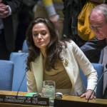 Angelina Jolie pide a británicos actuar contra la violencia sexual