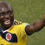 Selección colombiana: Pablo Armero se lesiona y no jugará ante Perú