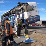 Puno: más de 20 heridos deja despiste de bus interprovincial