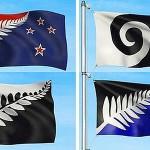 Cuatro finalistas para nueva bandera de Nueva Zelanda