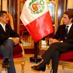 Ollanta Humala sostuvo reunión con José María Aznar