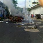 Lote 192: incidentes en inicio de paro de 48 horas en Iquitos
