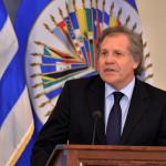"""OEA: Almagro insta a luchar por DDHH y obviar """"imbecilidades"""" de Trump"""