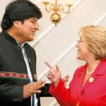 Bachelet y Morales sostuvieron afectuoso encuentro en la ONU