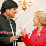 Bolivia: Evo Morales invita a Bachelet a visitar manantiales del Silala