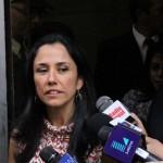Nadine Heredia reconoce ante la Fiscalía que agendas son suyas