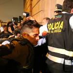 Gerald Oropeza ya está en carceleta de Palacio de Justicia