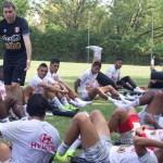 Selección peruana entrena a doble horario para jugar con EEUU