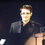 Snowden recibe en ausencia un premio a la libertad de expresión