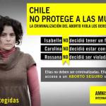Amnistía Internacional se pronuncia sobre prohibición del aborto en Chile