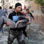 Siria: bombardeo rebelde mató a 14 niños y 24 adultos en Alepo (FOTOS)