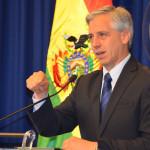 Bolivia: vicepresidente lamenta veto a evento en Chile