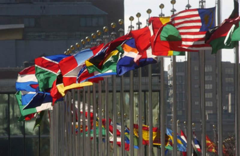 banderas ONU