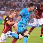 Barcelona y Roma empatan 1-1 por la Champions League