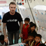 Beckham y Unicef llevan voces de niños y jóvenes ante líderes mundiales