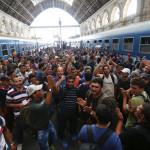 Hungría: cierran la estación de trenes de Budapest