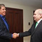 Pedro Cateriano se reunió con Alan García en Miraflores