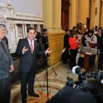 Luis Iberico saluda diálogo entre Gobierno y líderes políticos