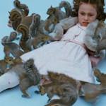 Willy Wonka: entrenaron ardillas para atacar niña