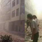China: cadena de 17 explosiones provocadas deja siete muertos