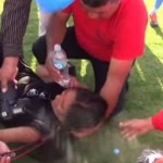 Alerta OFIP: agreden a periodista durante partido de Copa Perú