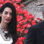 George Clooney sobre Amal Alamuddin: ella es la inteligente