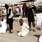 Estado Islámico: crucifican a cuatro acusados de bandolerismo