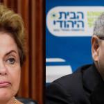 Brasil veta nombramiento del nuevo embajador de Israel
