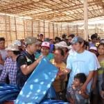 Fenómeno El Niño: cubren techos de hogares en Áncash