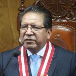 Fiscal de la Nación niega presiones en caso de Ricardo Rojas
