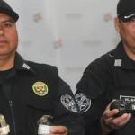 Policía pide calma a la población ante aparición de granadas
