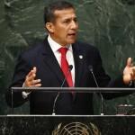 Ollanta Humala pide compromiso con el desarrollo sostenible